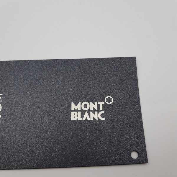 MONT BLANC Nickel Sticker