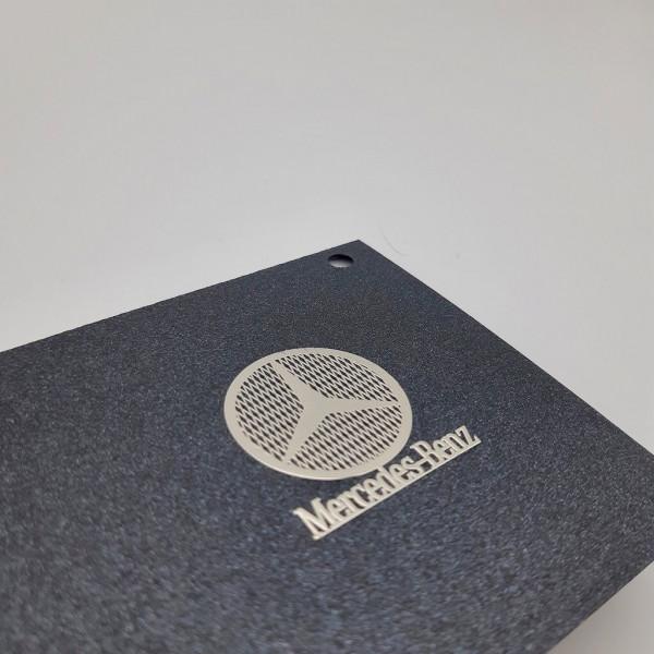 MERCEDES BENZ Nickel Sticker