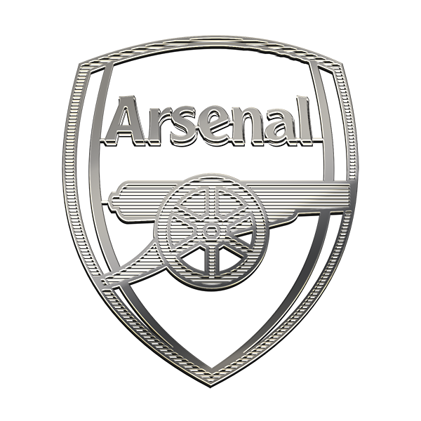 ARSENAL F.C. Nickel Sticker
