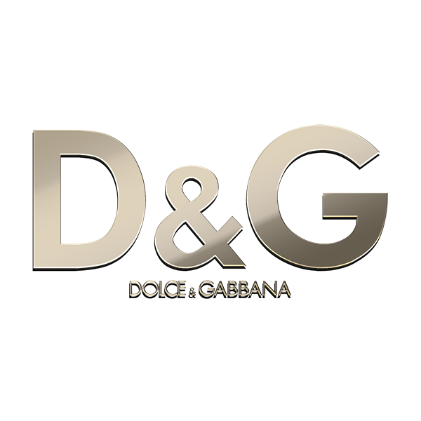 10 DOLCE GABBANA Nickel Stickers