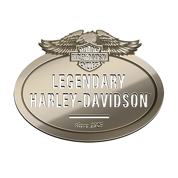 Legendary Harley Davidson Nickel sticker
