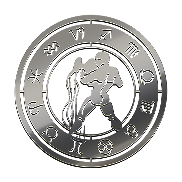 AQUARIUS NICKEL STICKER