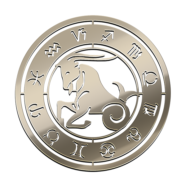 CAPRICORN NICKEL STICKER