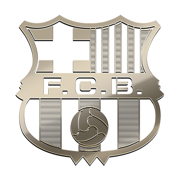 BARCA F.C. Nickel Sticker