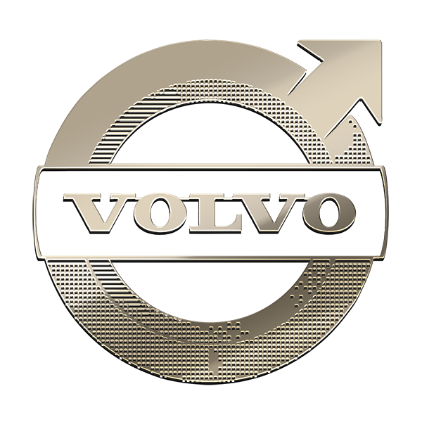 VOLVO NICKEL STICKER