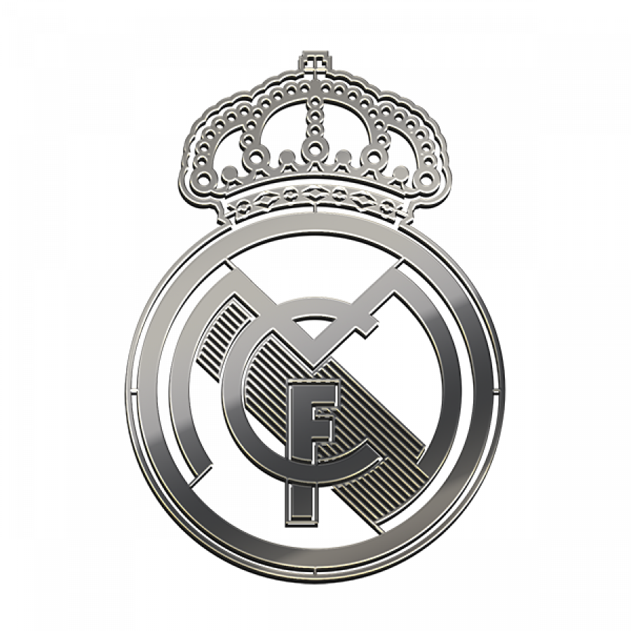 Real Madrid Fc Nickel Sticker Free Shipping 2020