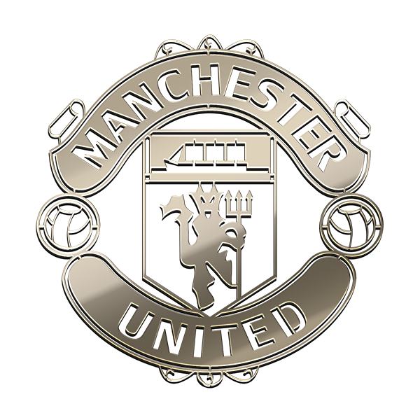 MANCHESTER FC Nickel Sticker