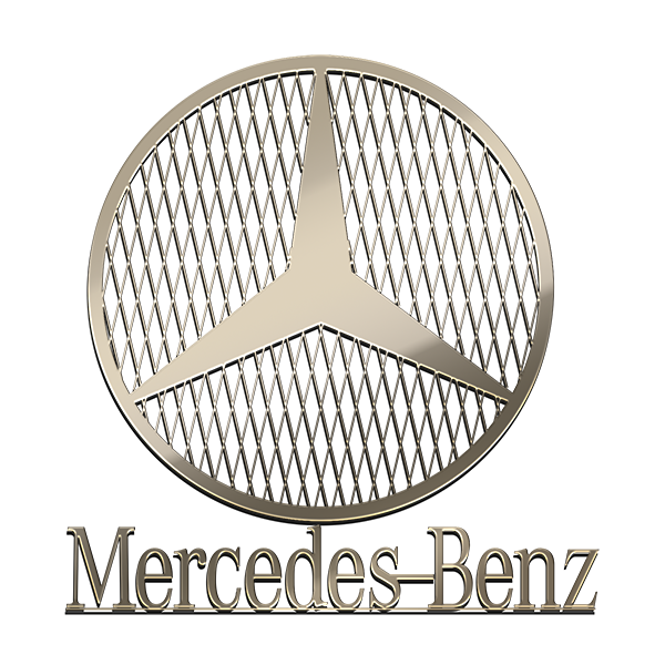 MERCEDES BENZ Nickel Sticker