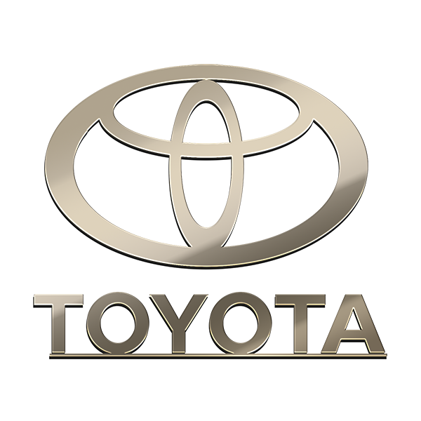 TOYOTA NICKEL STICKER