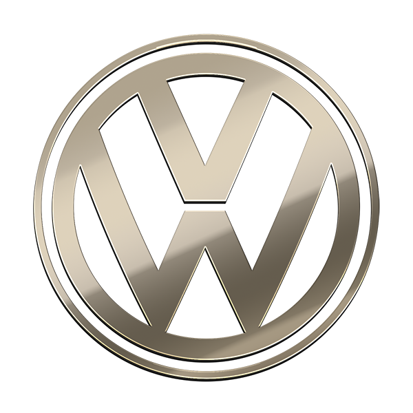 VOLKSWAGEN NICKEL STICKER