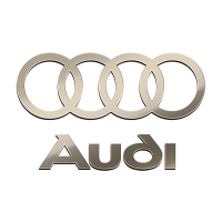 AUDI NICKEL STICKER