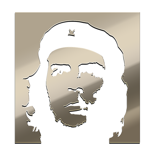 CHE GUEVARA Nickel Sticker