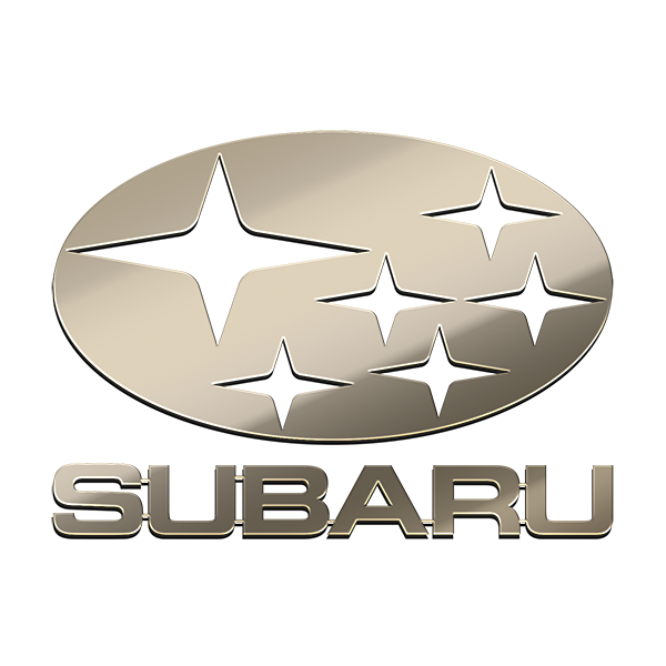 SUBARU NICKEL STICKER
