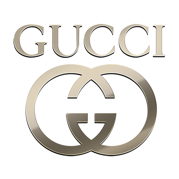 10 GUCCI NICKEL STICKERS
