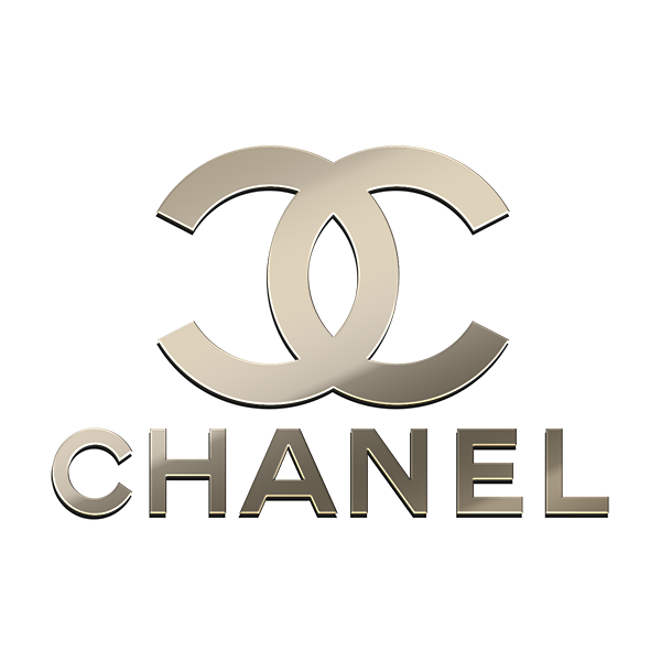 10 CHANEL NICKEL STICKERS