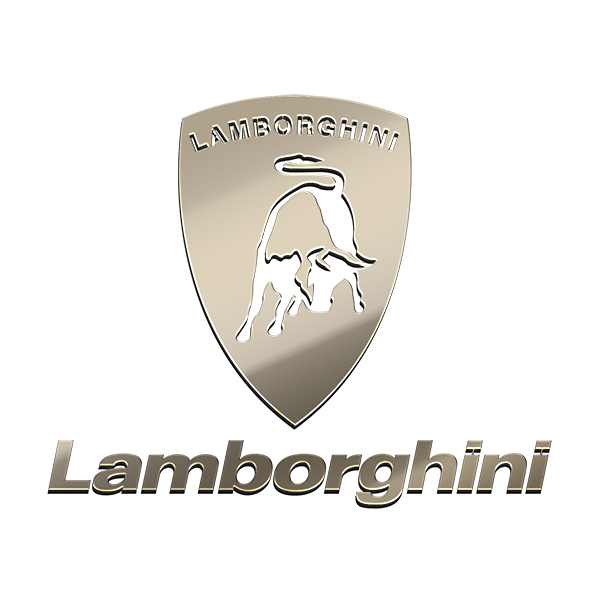 LAMBORGHINI NICKEL STICKER