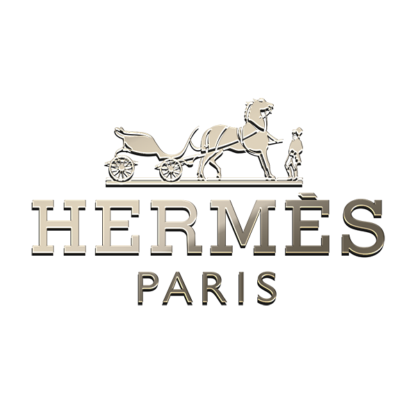 10 HERMES PARIS Nickel Stickers